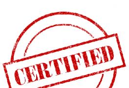 Certificados dos líquidos da 4-Vapor